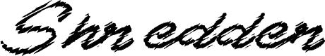 Preview image for Shredder Font
