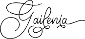 Preview image for Gailenia Font