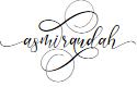 Preview image for asmirandah Font
