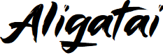 Preview image for Aligatai Font