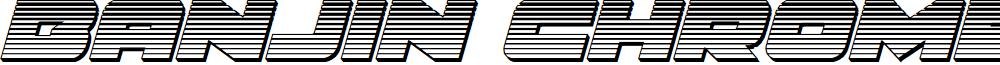 Banjin Chrome Italic