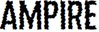 Ampire font