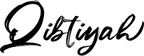 Preview image for Qibtiyah Font