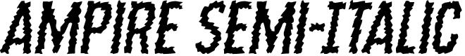 Preview image for Ampire Semi-Italic