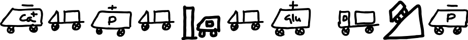 Preview image for KARAVAN BUS Font