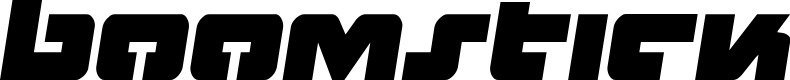 Preview image for Boomstick Semi-Italic