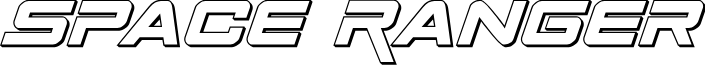 Space Ranger 3D Italic
