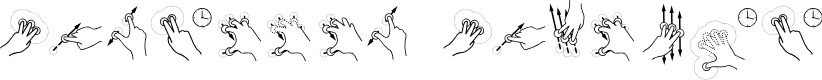 Preview image for Gesture Glyphs