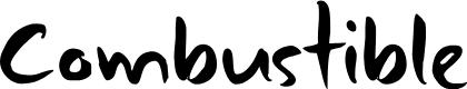 Preview image for DK Combustible Regular Font