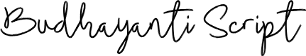 Preview image for Budhayanti Script Font