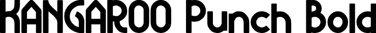 KANGAROO Punch Bold