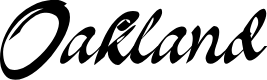 Preview image for Oakland Font
