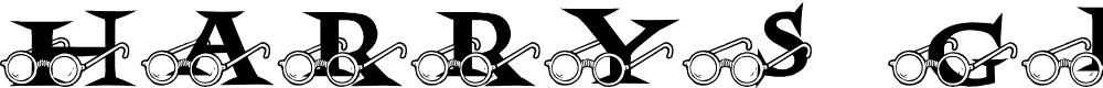 Preview image for JLR Harry's Glasses Font