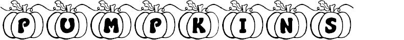 Preview image for JI Pumpkins Font