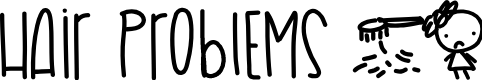 Preview image for HairProblems Font