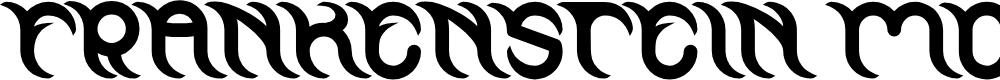 Preview image for FRANKENSTEIN MONSTER Bold