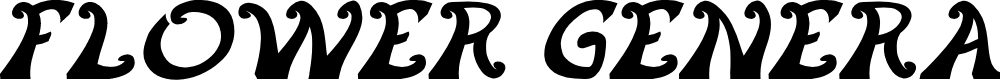 Preview image for FLOWER GENERATION Italic