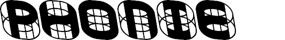 Preview image for PHONIE Font