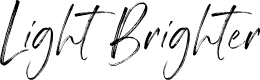 Preview image for Light Brighter Font