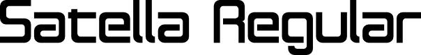 Preview image for Satella Regular Font