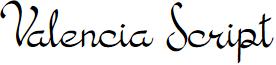 Valencia Script