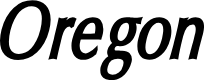 Preview image for Oregon LDO Condensed Bold Oblique