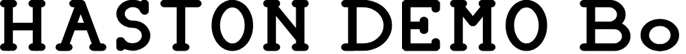 Preview image for HASTON DEMO Bold Font