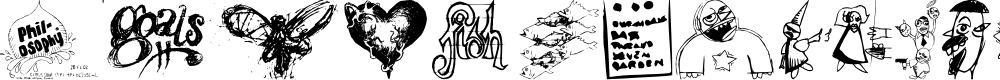 Preview image for DisturbedBats Yo! Font