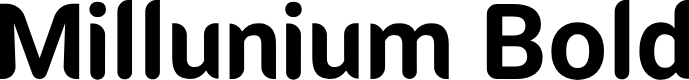 Preview image for Millunium Bold Font