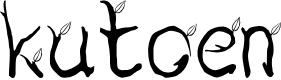 Preview image for kutoen Font