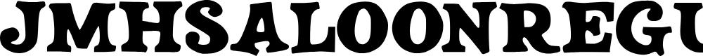 Preview image for JMHSALOON-Regular Font