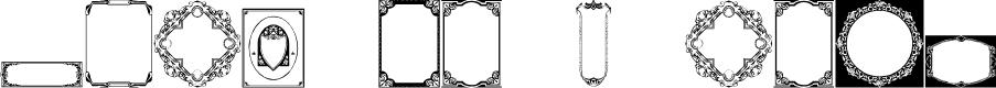 Preview image for Vintage Panels_01 Font