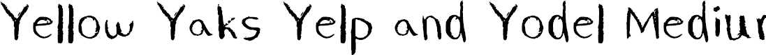 Preview image for Yellow Yaks Yelp and Yodel Medium