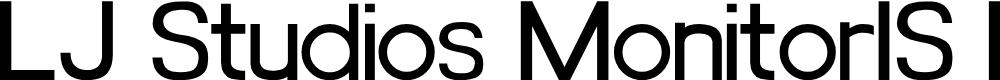Preview image for LJ Studios MonitorIS MAYUS/Minus