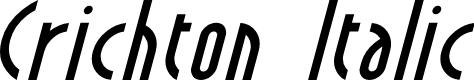 Preview image for Crichton Italic
