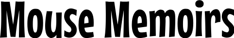 Preview image for Mouse Memoirs Font