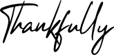 Preview image for Thankfully Font