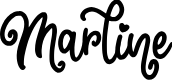 Preview image for Marline Font