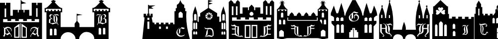 Preview image for 101! CastleZ Font