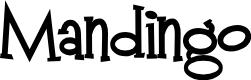 Preview image for Mandingo Font