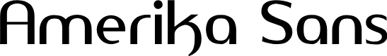 Preview image for Amerika Sans Font