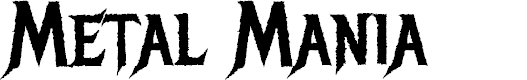 Preview image for Metal Mania Font