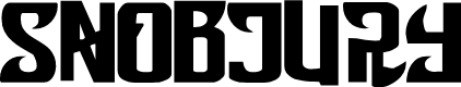 Preview image for Snobjury Font