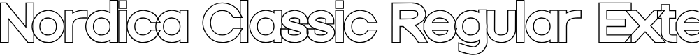 Preview image for Nordica Classic Regular Extended Outline