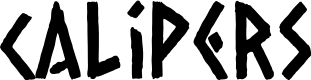 Preview image for Calipers Font