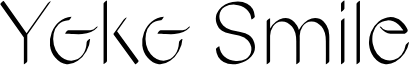 Yoko Smile font
