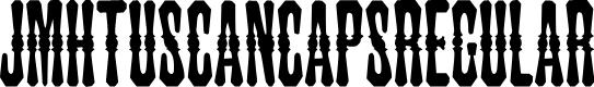 Preview image for JMHTuscanCAPS-Regular Font