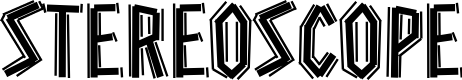 Preview image for Stereoscope Font