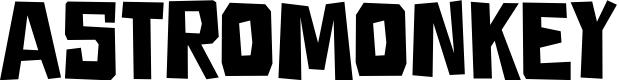 Preview image for DKAstromonkey Font