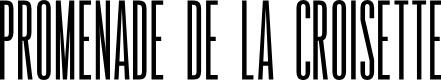 Preview image for Promenade de la Croisette Regular Font